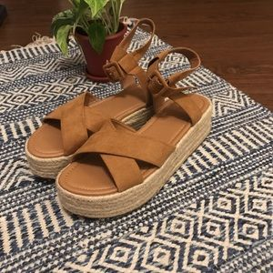 Urban Outfitters Platform Espadrille